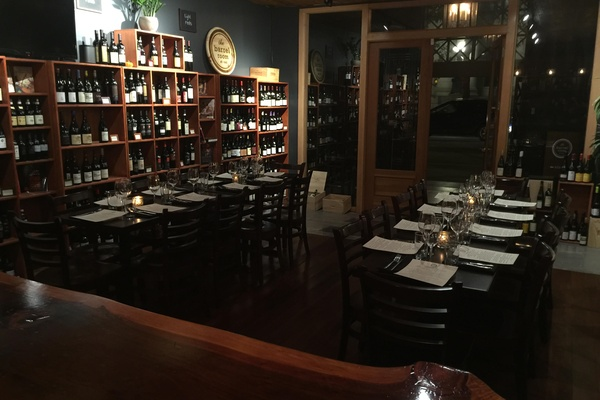 Photo of San Francisco event space venue The Barrel Room's Large Reservation in Wine Room - Seated