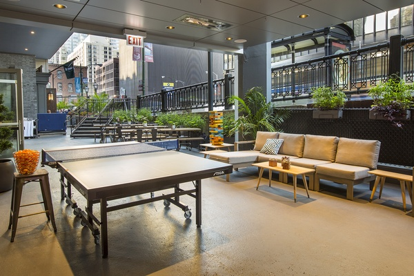 Photo of Chicago event space venue SPiN CHICAGO's Patio