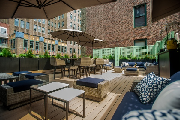 Photo of NYC / Tri-State event space venue Restaurant at Rose Hill's Rooftop