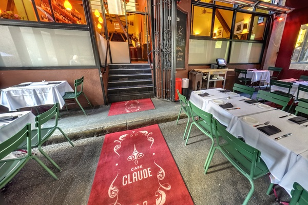 Photo of San Francisco event space venue Cafe Claude's Patio - Buyout