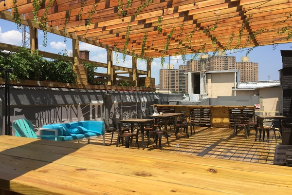 Photo of NYC / Tri-State event space venue BKLYN COMMONS's Rooftop Patio With Mezzanine
