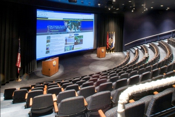 Photo of DC / MD / VA event space venue US Navy Memorial - Naval Heritage Center's The Burke Theater