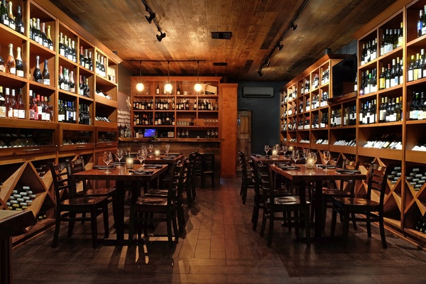 Photo of San Francisco event space venue The Barrel Room/Parigo's Large Reservation in Wine Room - Seated