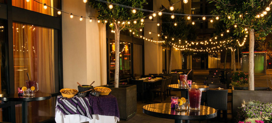 Patio event space at Rosa Mexicano - San Francisco in San Francisco, SF Bay Area, San Fran