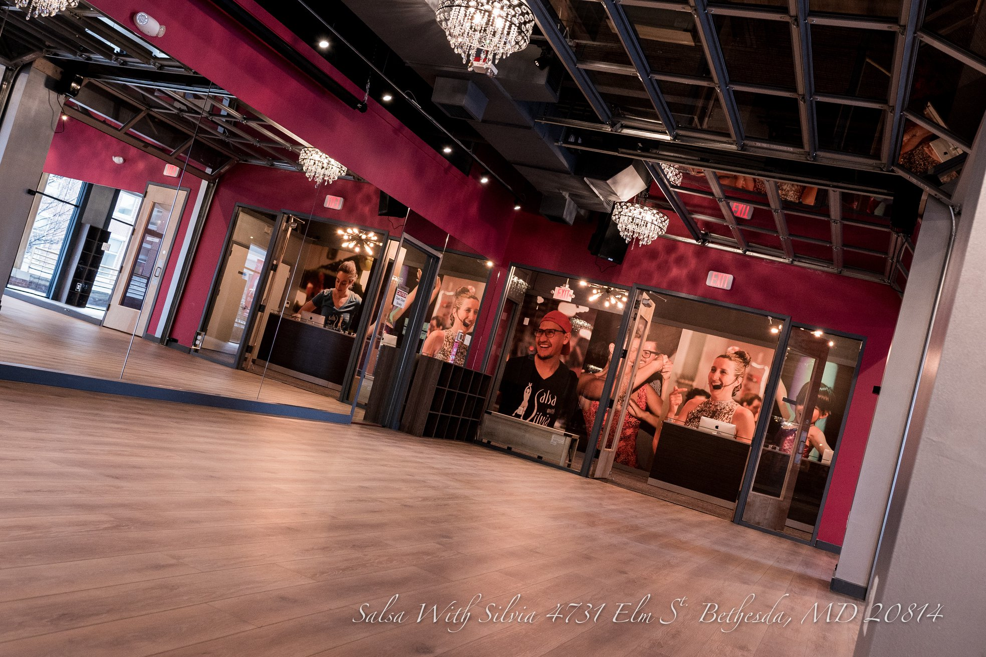 Full Venue Reservation event space at Salsa With Silvia Ballroom (Bethesda) in Washington DC, Maryland, Virginia, DC Area