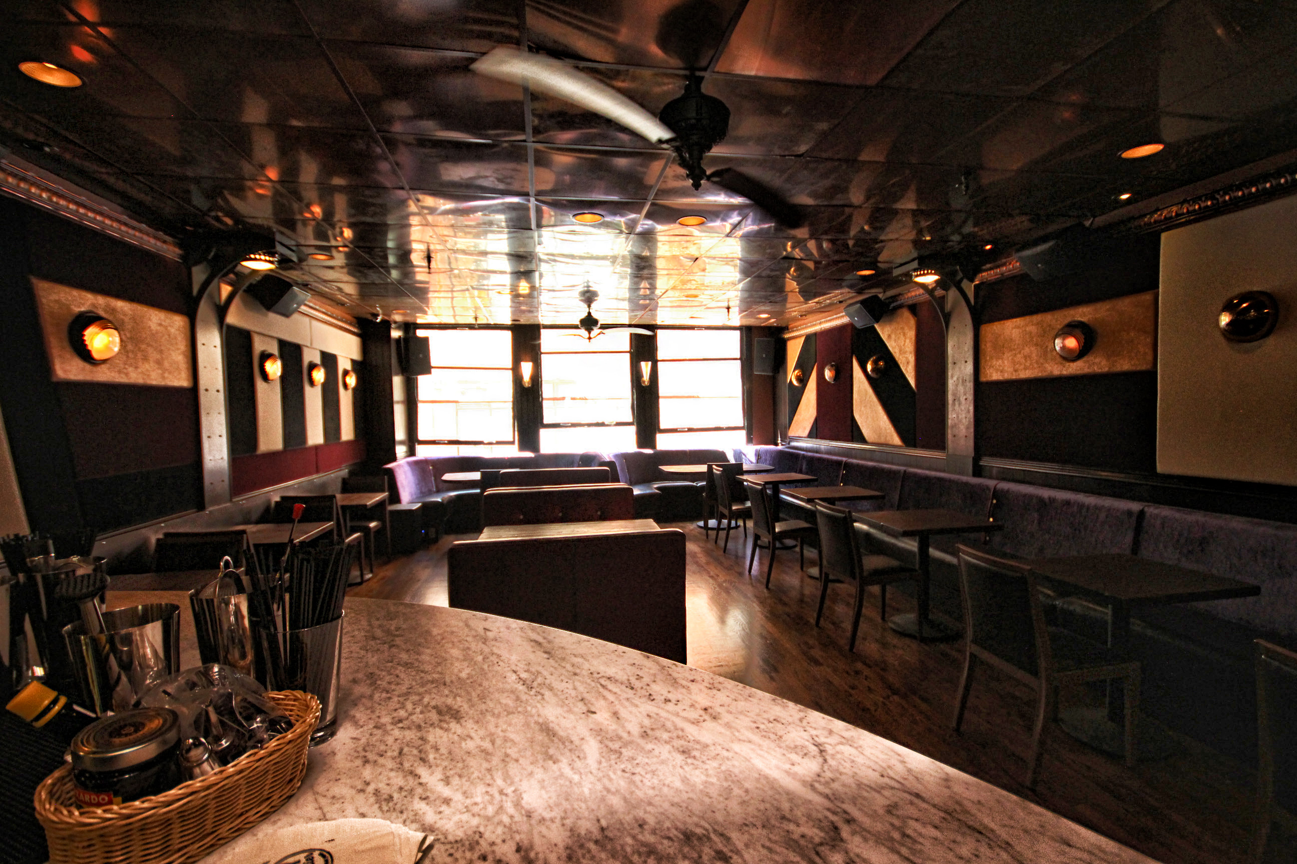 Upstairs Dining Room & Lounge event space at Toy Soldier in San Francisco, SF Bay Area, San Fran