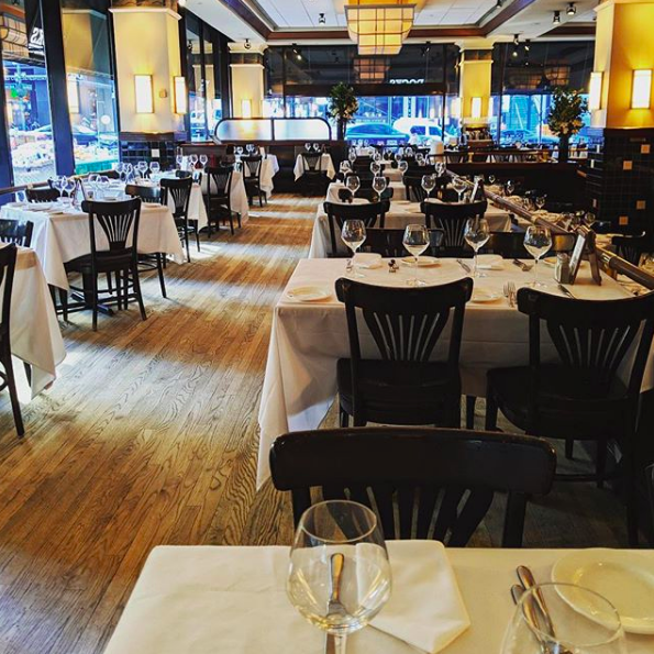 Main Dining Room event space at Docks Oyster Bar & Seafood Grill in New York City, NYC, NY/NJ Area
