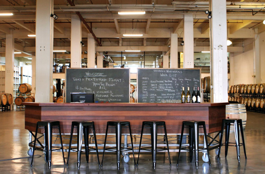 Photo #8 Dogpatch WineWorks Barrel Room at Dogpatch WineWorks