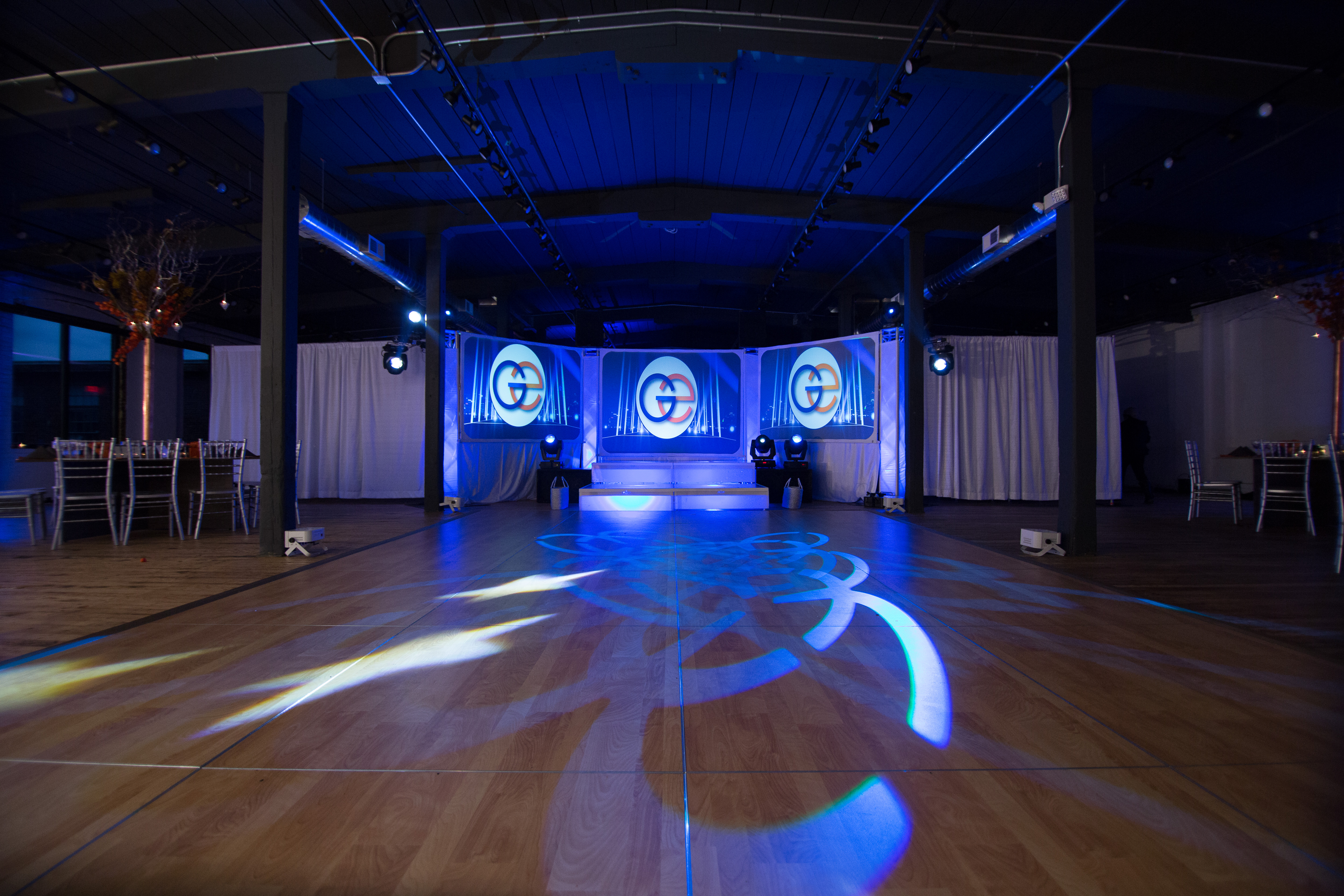 Loft C/D event space at Factory220 in New Jersey