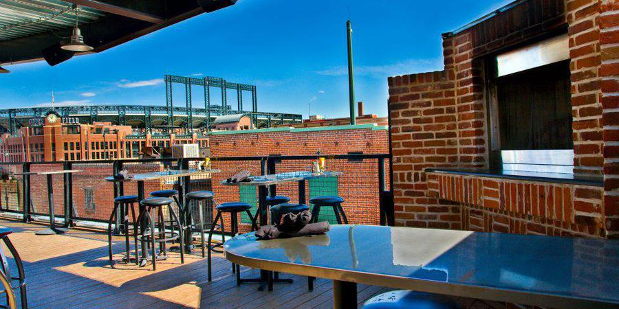 Full Patio event space at Lodo's Downtown in denver