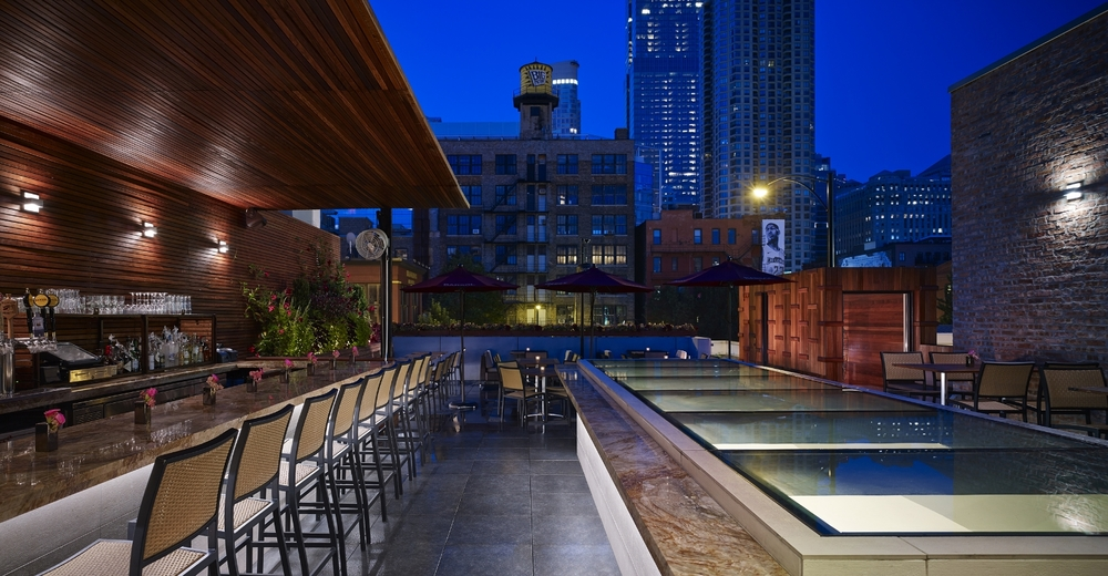 Photo #2 Rooftop Terrace at Tanta Chicago