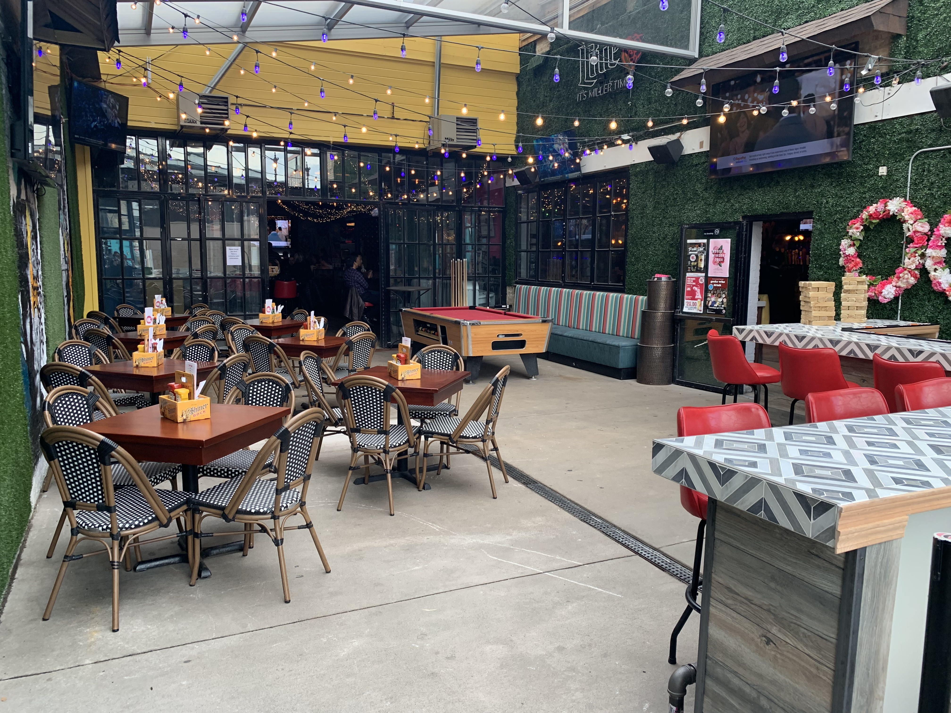 Photo #2 Patio Semi-Private Lounge at Old Grounds Social