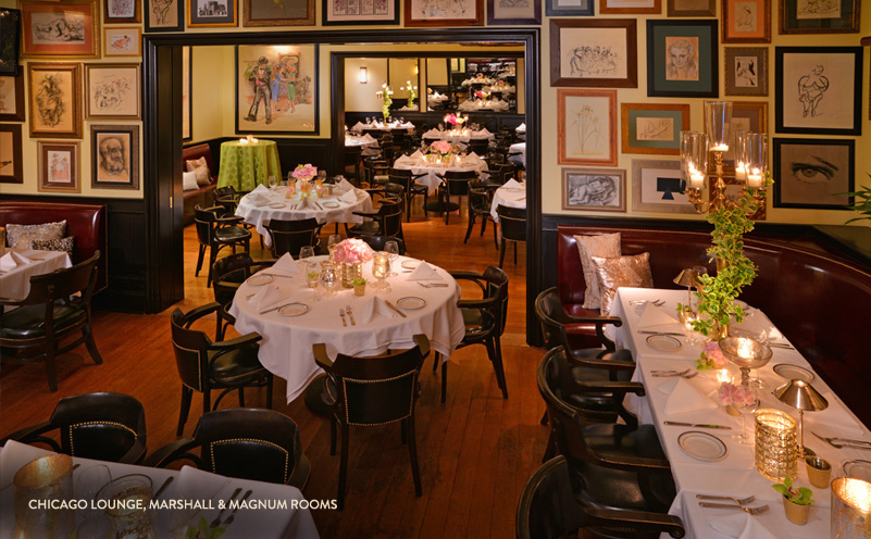 Photo #5 Marshall Room at The Grill on the Alley Chicago