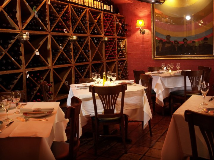 Wine Room event space at Trattoria Dell'Arte in New York City, NYC, NY/NJ Area