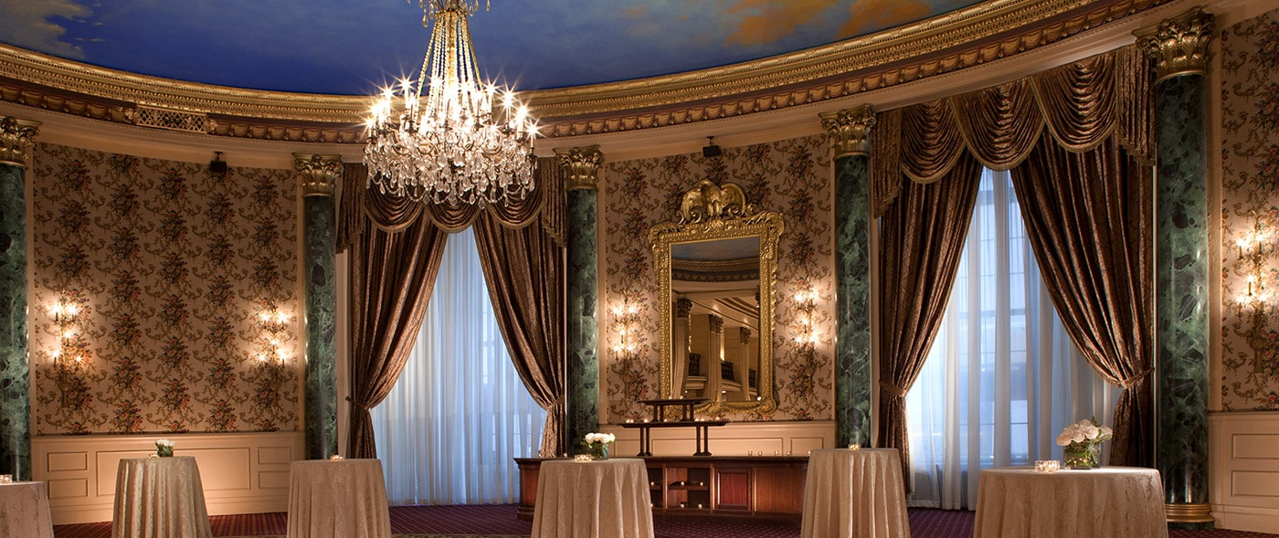 Palm Room event space at The Roosevelt Hotel in New York City, NYC, NY/NJ Area