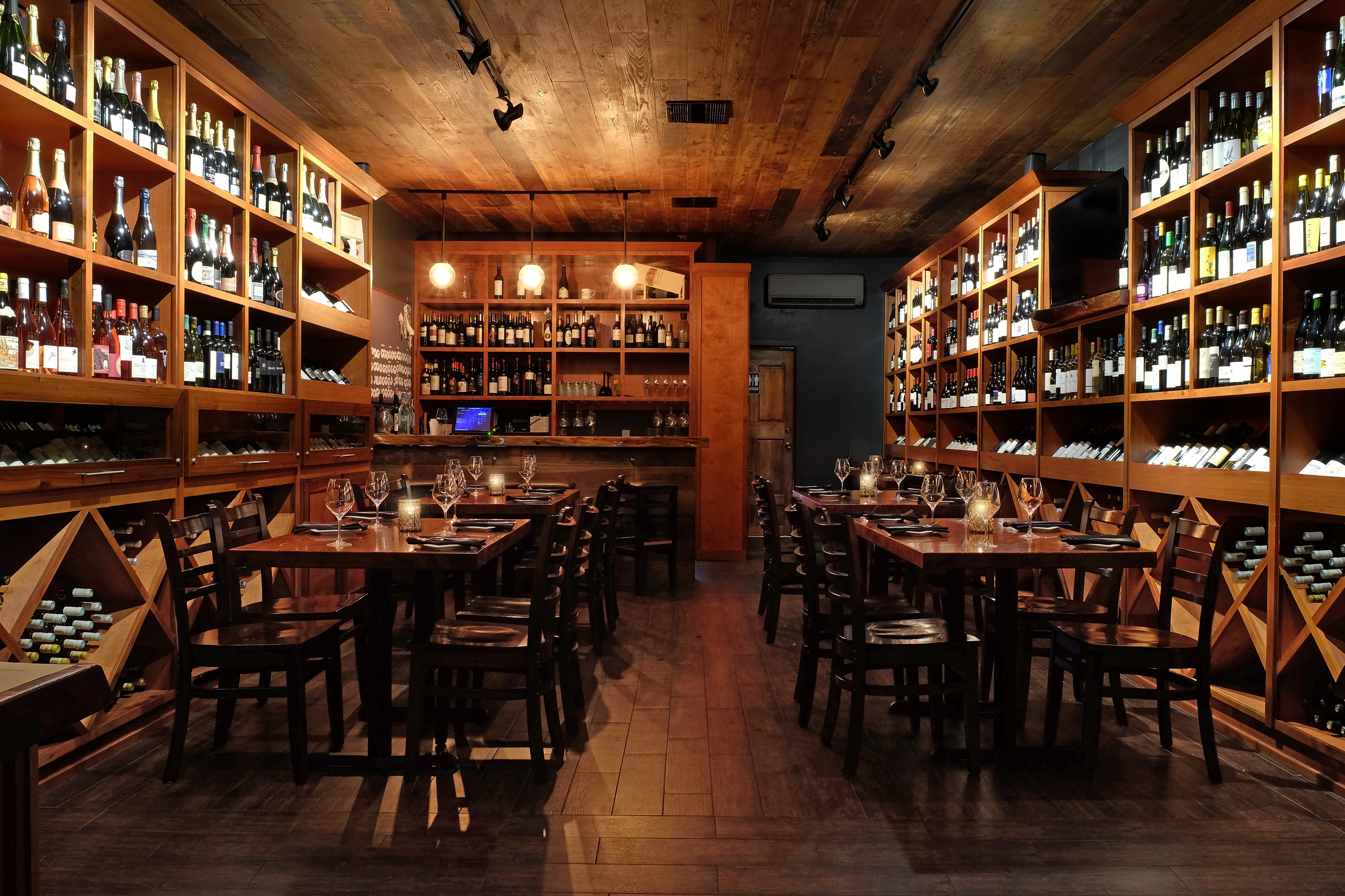 Photo #9 Large Reservation in Wine Room - Seated at The Barrel Room