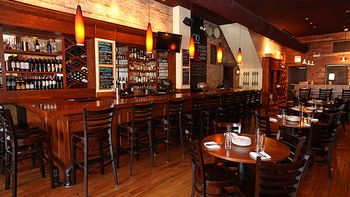 Front Dining Area event space at Sono Wood Fired in Chicago, Chicagoland Area