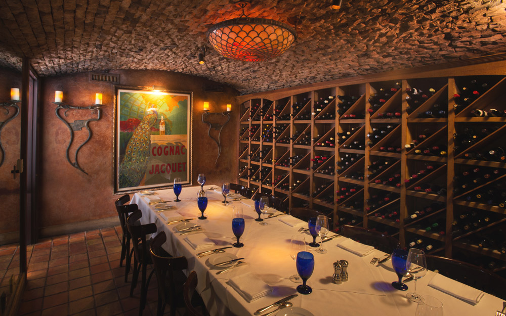 THE WINE VAULT event space at Boulevard Restaurant in San Francisco, SF Bay Area, San Fran