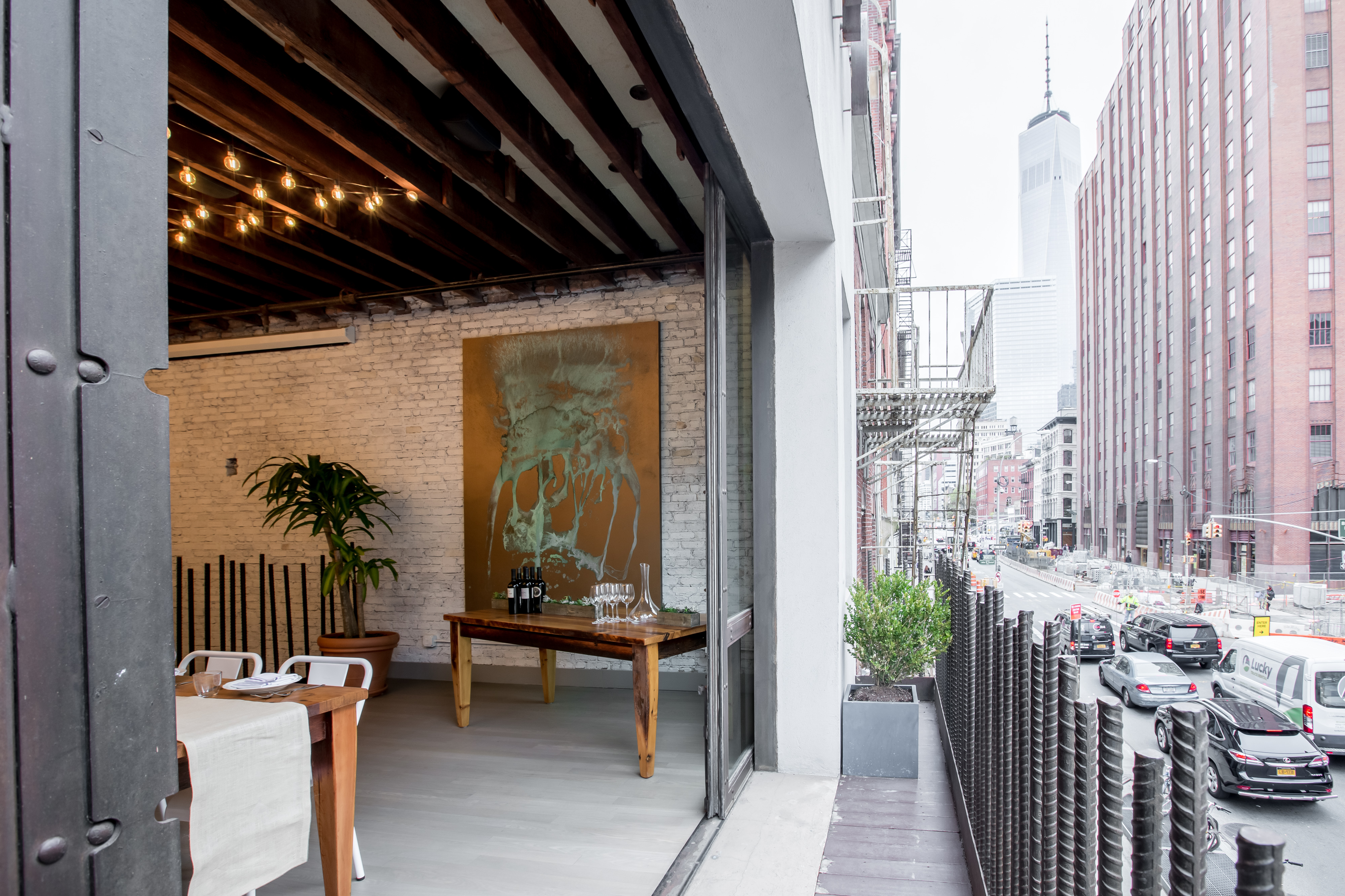 Photo #10 Upstairs Dining Room  at landmarc [tribeca]