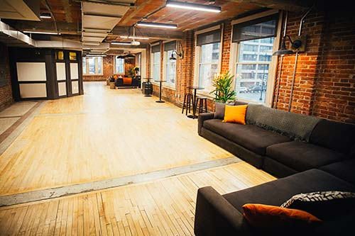 Full Venue event space at The Loft at 600 F in Washington DC, Maryland, Virginia, DC Area
