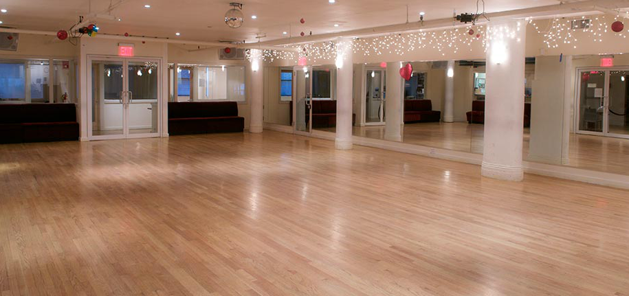 Studio A event space at Paul Pellicoro's DanceSport in New York City, NYC, NY/NJ Area