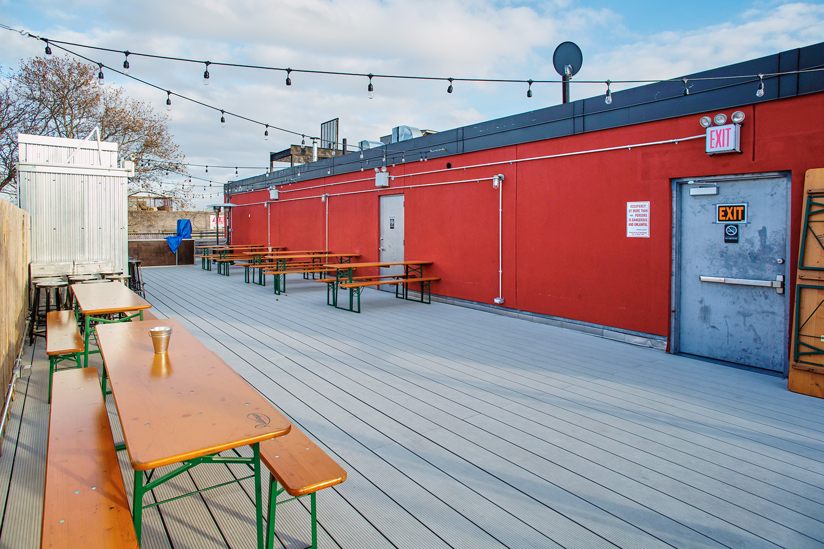 Photo #5 Rooftop/Bar at Our Wicked Lady