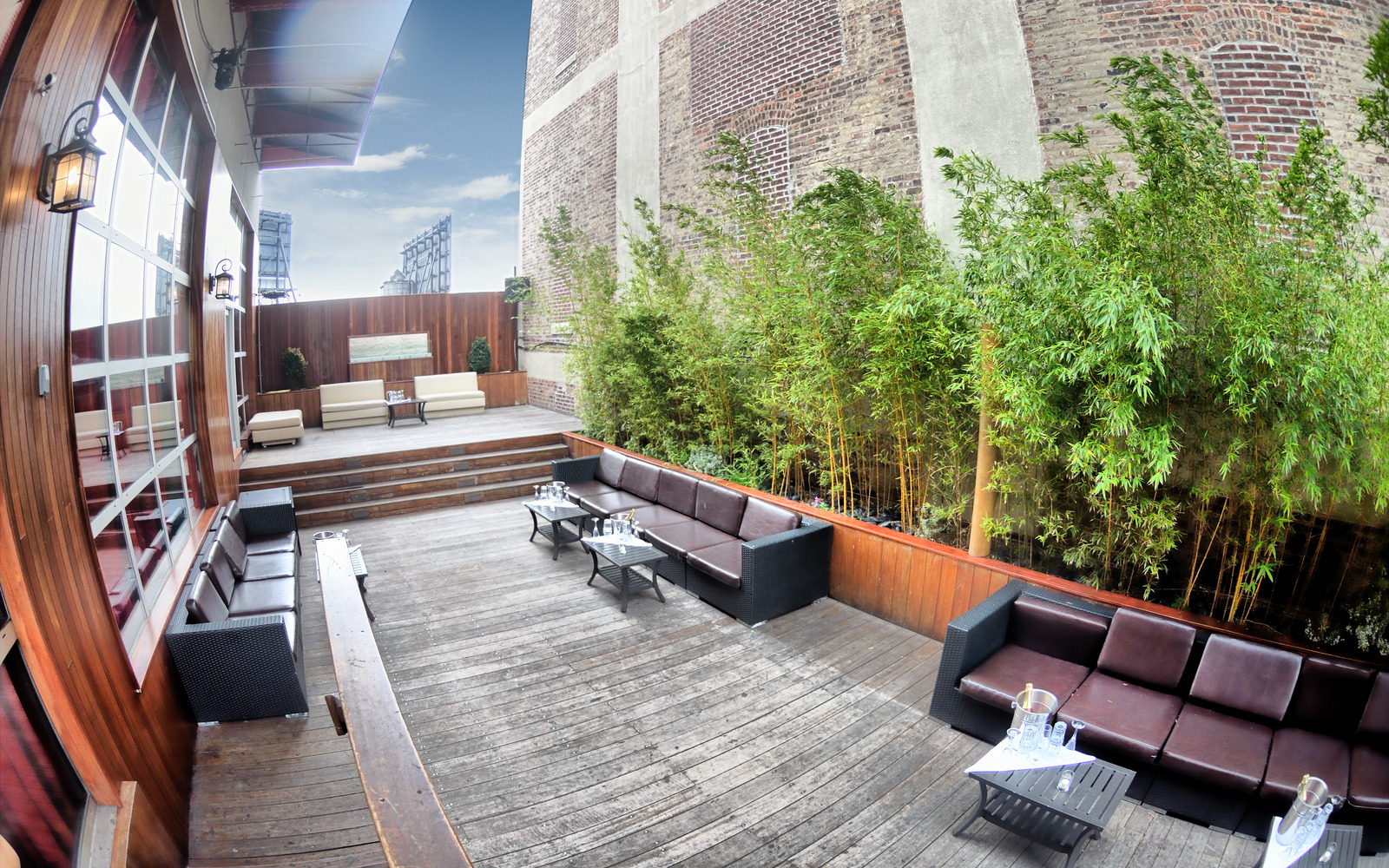 Photo #10 The Garden Terrace (Outdoor Space with Sound & Bar) at Hudson Terrace