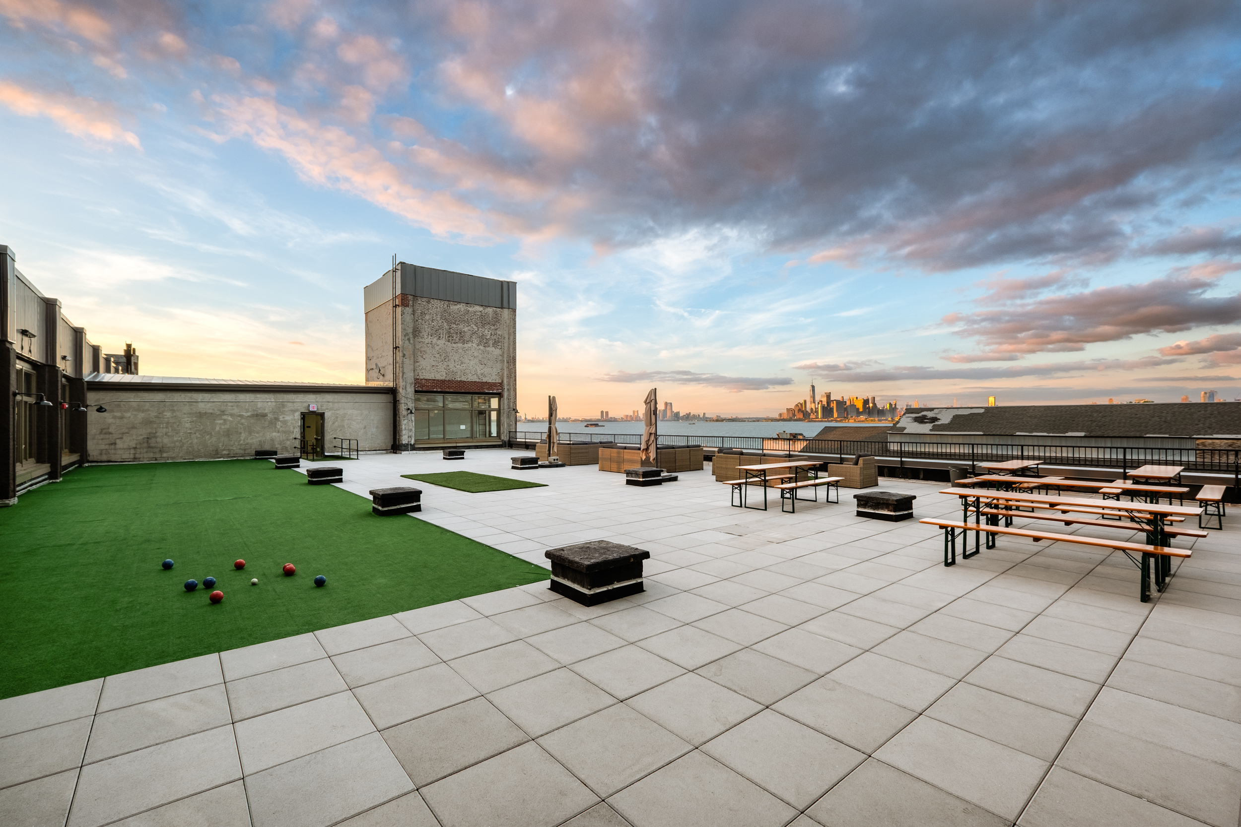 Sunset Park Rooftop event space at Sunset Park Rooftop in New York City, NYC, NY/NJ Area