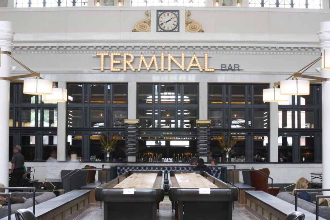 Terminal Bar event space in denver