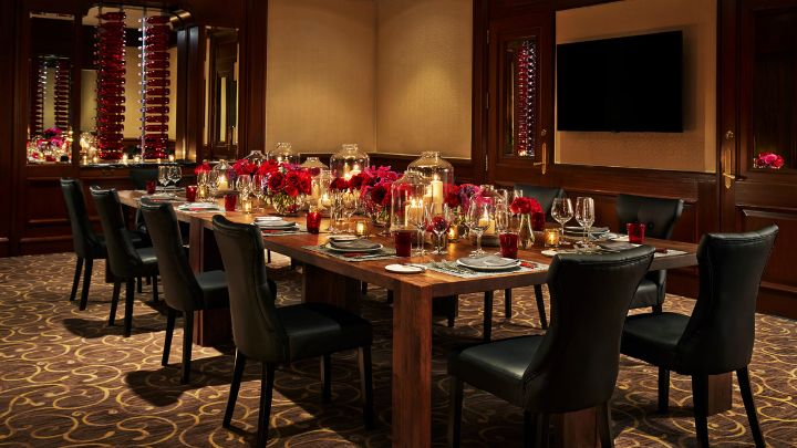 Private Dining Room event space at Allium in Chicago, Chicagoland Area