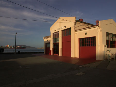 Firehouse event space at Fort Mason Center Firehouse in San Francisco, SF Bay Area, San Fran