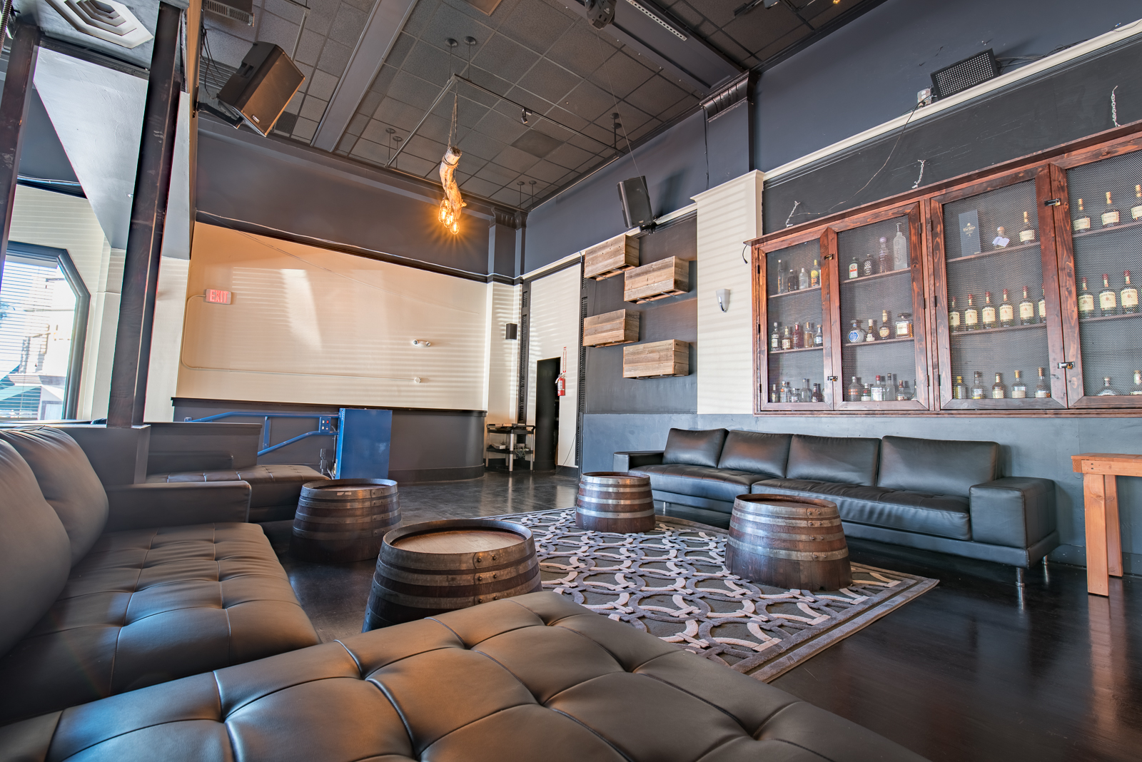 Photo #4 Upper Lounge Space at Hex SF