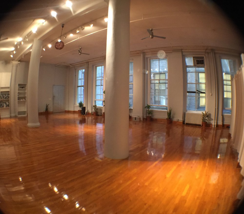 Large and Beautiful Yoga studio in Soho - 1/2 Day Rental event space at BigToe Yoga in New York City, NYC, NY/NJ Area