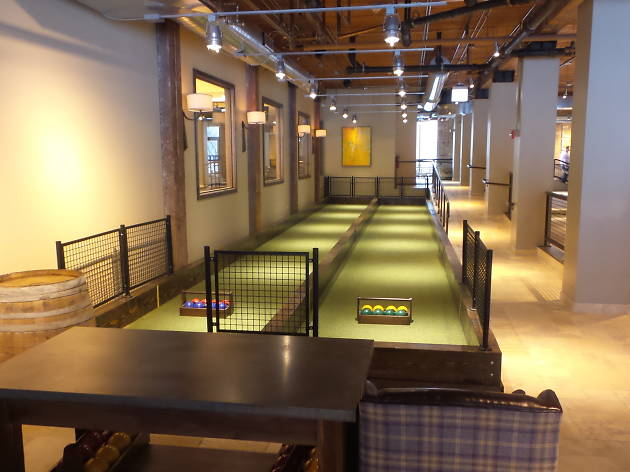Photo #5 Bowling Lanes & Bocce Courts at Pinstripes - Chicago