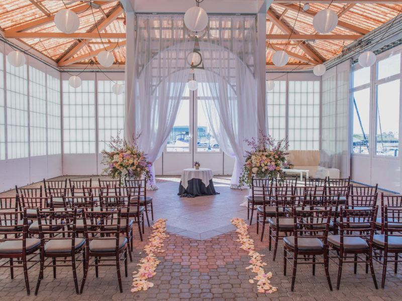 The Pavilion  event space at Scotts Seafood - Jack London Square in San Francisco, SF Bay Area, San Fran