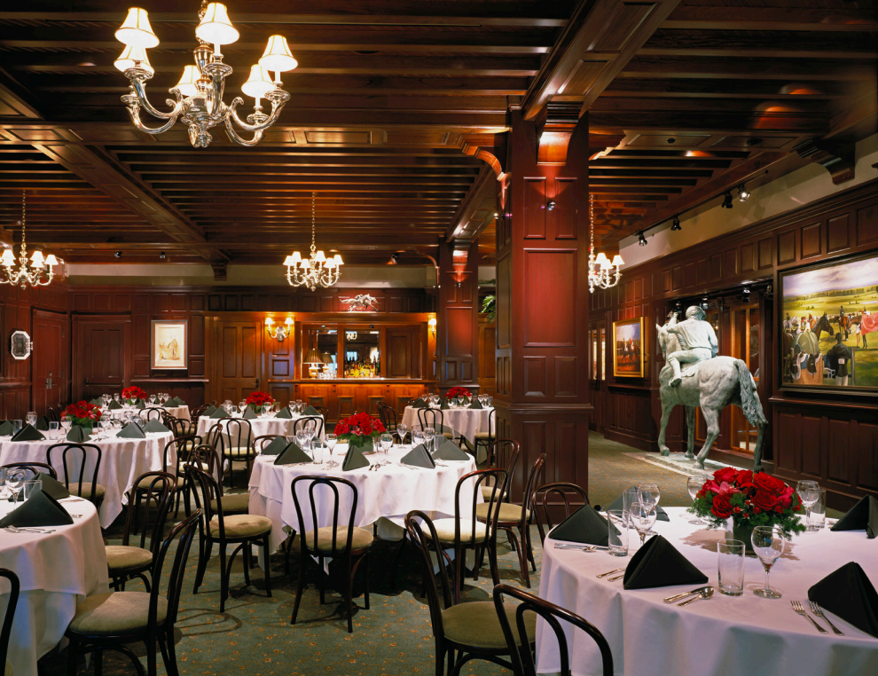 The Piedmont Room event space at Clyde's of Gallery Place in Washington DC, Maryland, Virginia, DC Area