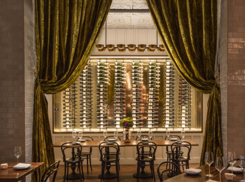 Private Dining Room event space at Hotel Bijou in San Francisco, SF Bay Area, San Fran