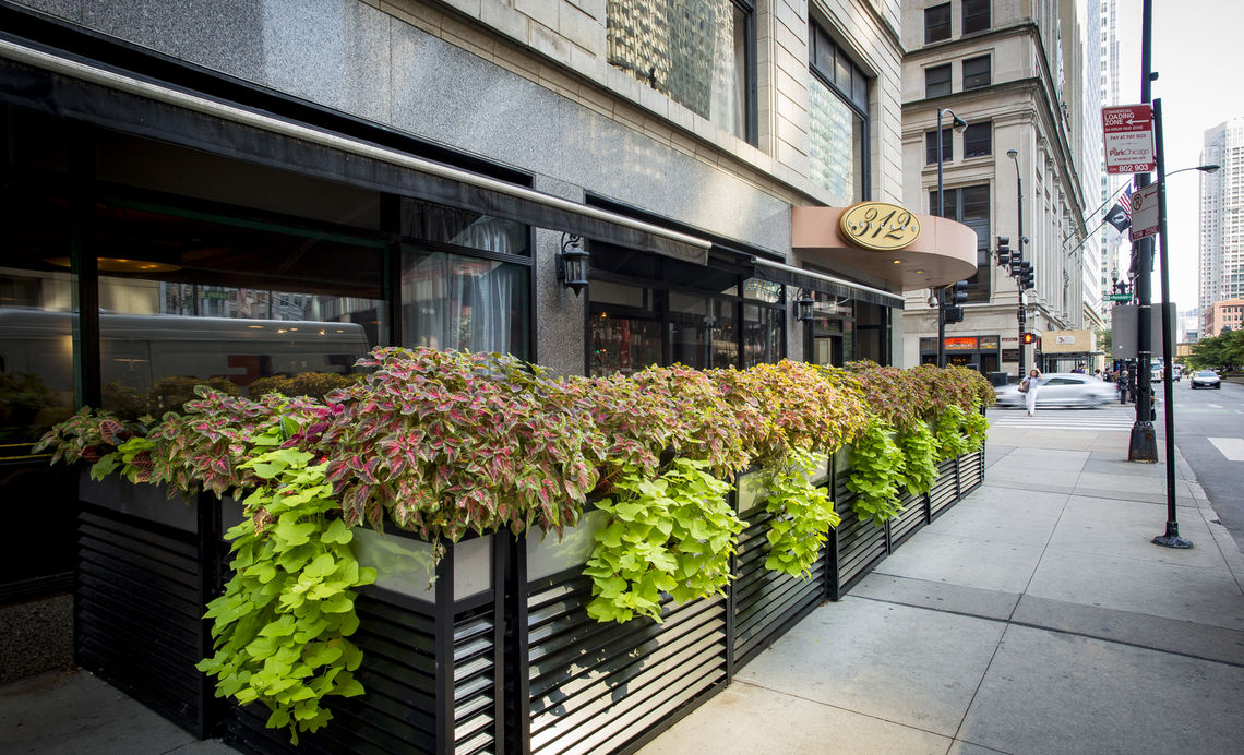 Photo #4 OUTDOOR PATIO at 312 Chicago