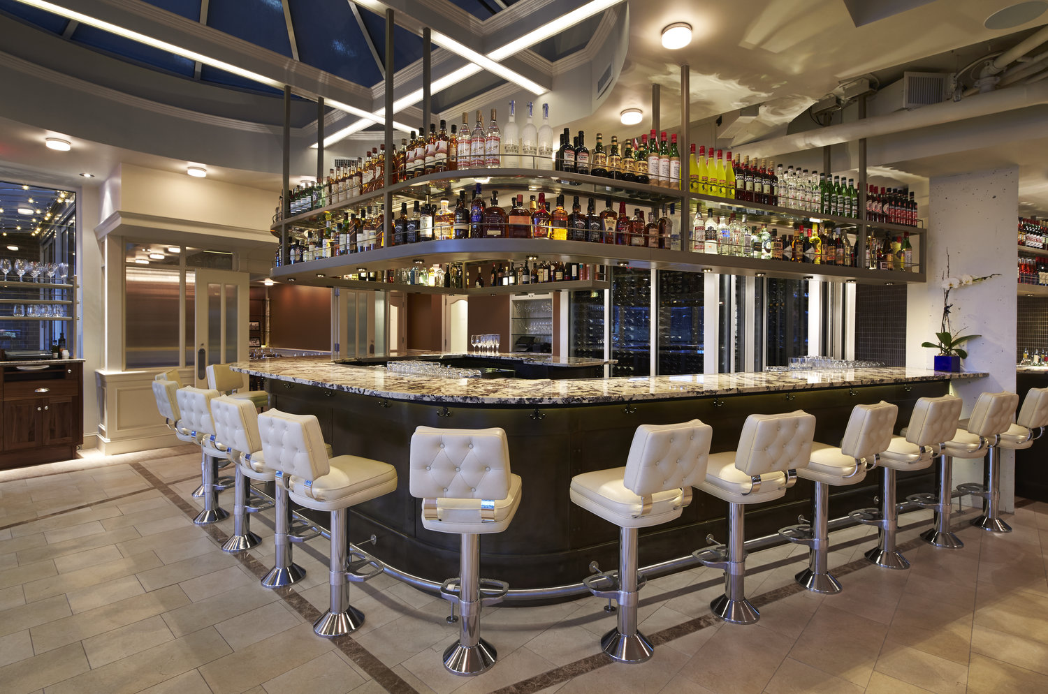 MAIN BAR event space at Fiola Mare in Washington DC, Maryland, Virginia, DC Area