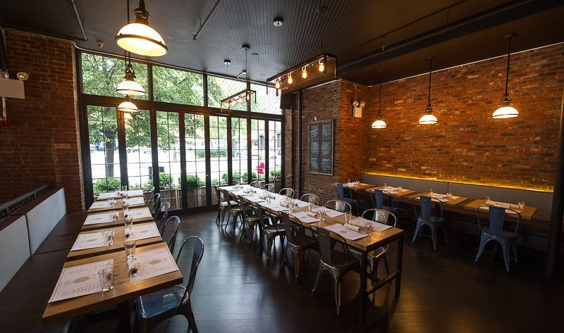 Photo #2 Main Dining Room at Woodland NYC