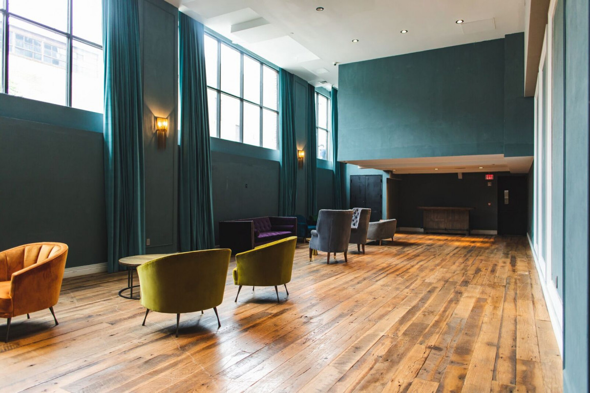 The Library Room event space at The Williamsburg Hotel in New York City, NYC, NY/NJ Area