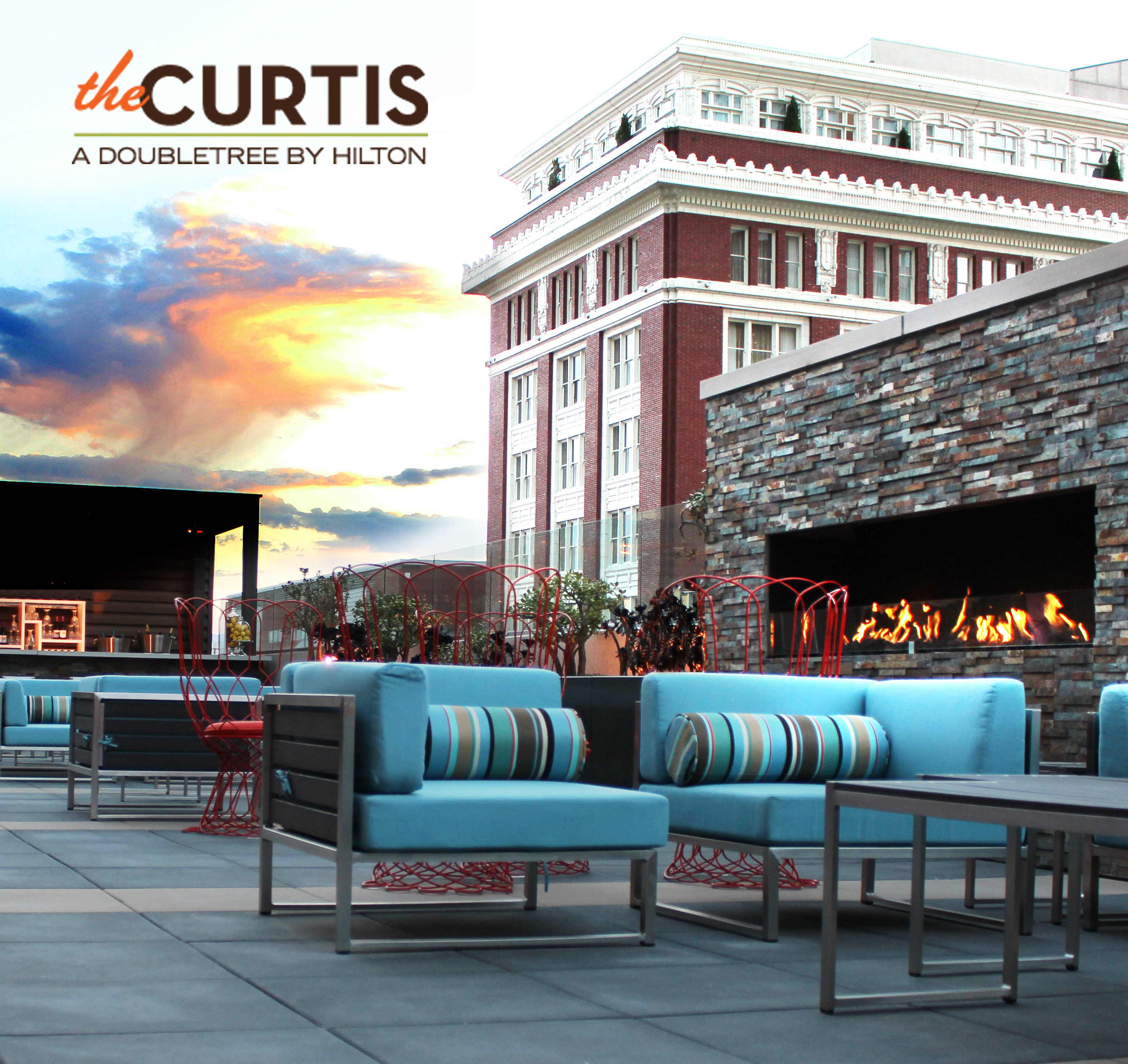 Four Square Ballroom event space at theCURTIS -a Doubletree by Hilton in denver