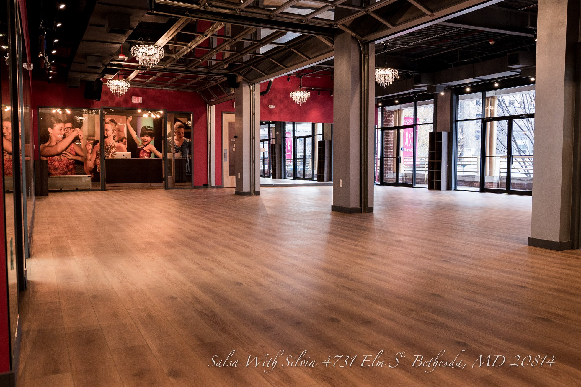 Photo #10 One Room Rental - Semi Private at Salsa With Silvia Ballroom (Bethesda)