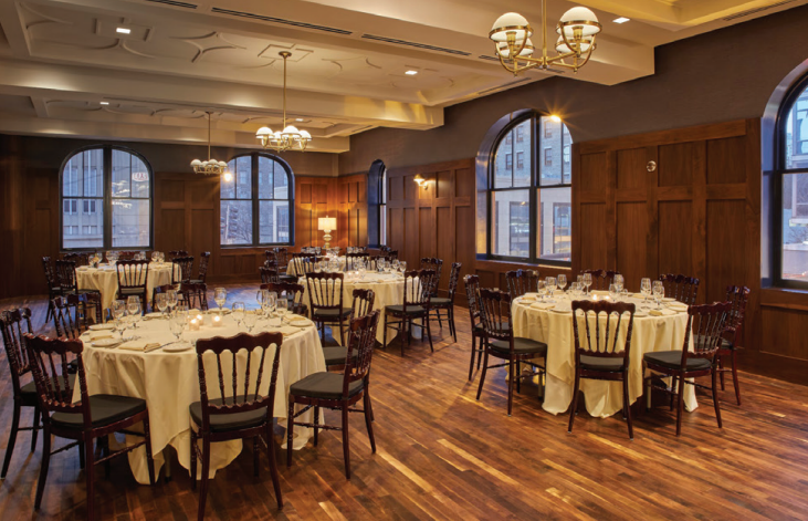 The Palmer Parlor event space at Chicago Firehouse Restaurant in Chicago, Chicagoland Area