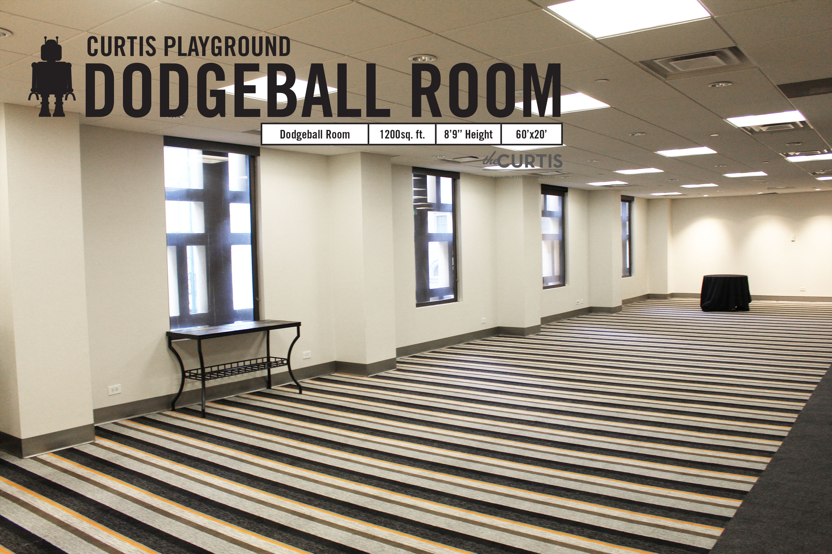Photo #2 Dodgeball at theCURTIS -a Doubletree by Hilton
