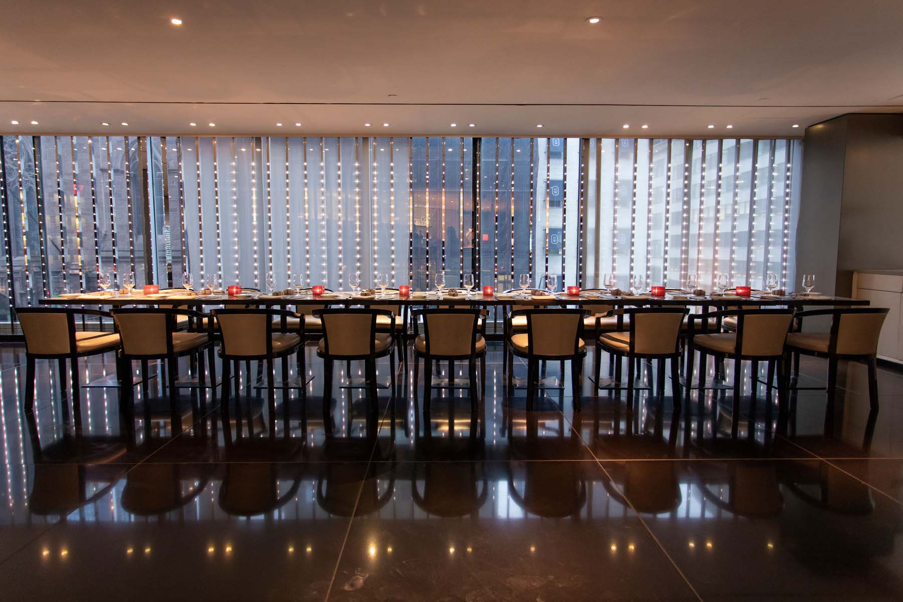Milano event space at Armani / Ristorante 5th Avenue in New York City, NYC, NY/NJ Area