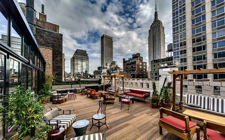 Rooftop Buyout event space at The Refinery Rooftop in New York City, NYC, NY/NJ Area