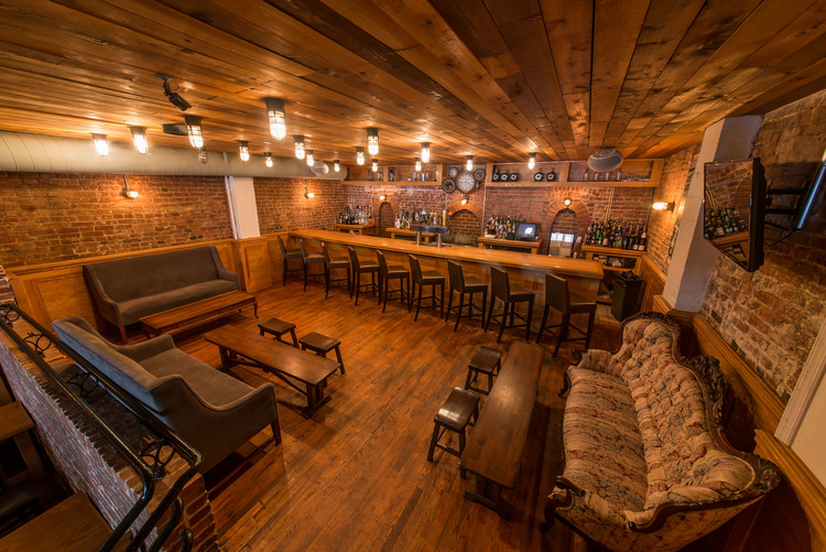 Back Bar Area event space at Johnny Pistolas in Washington DC, Maryland, Virginia, DC Area