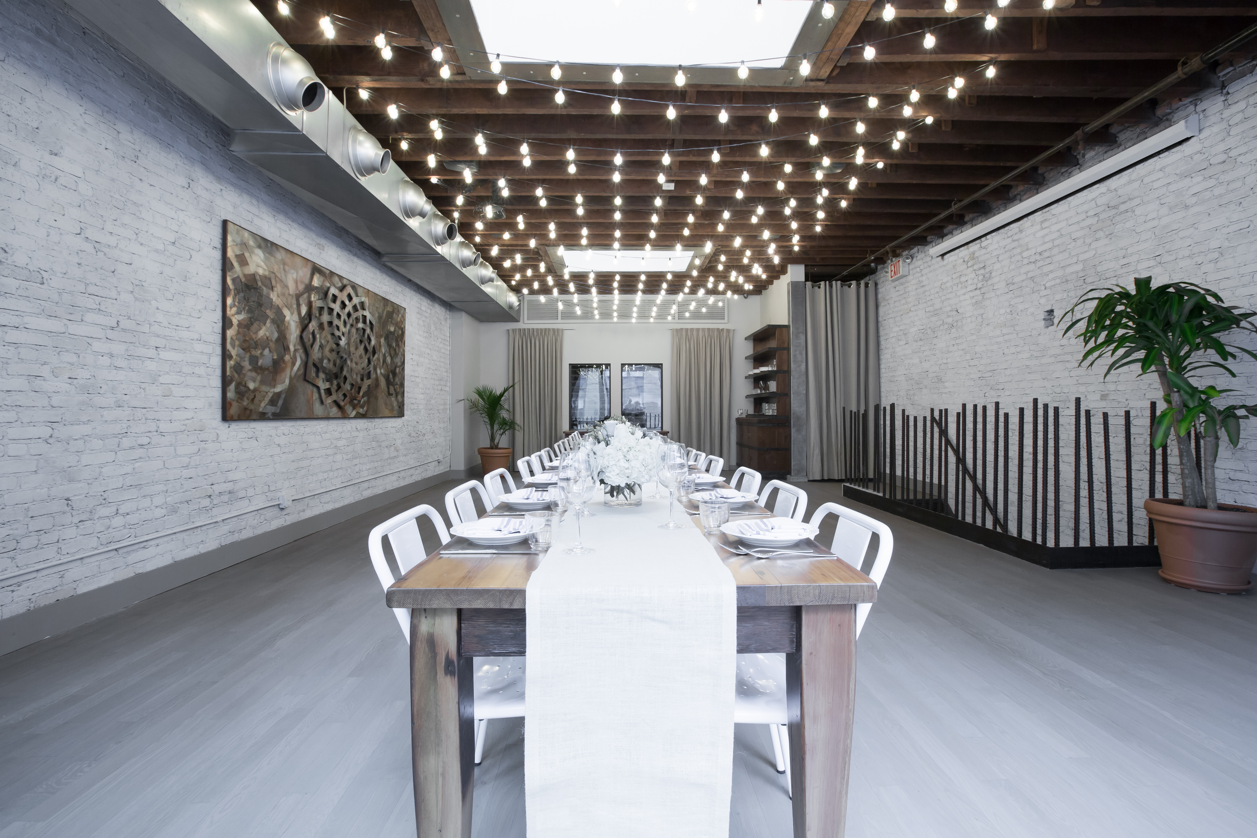 Photo #15 Upstairs Dining Room  at landmarc [tribeca]