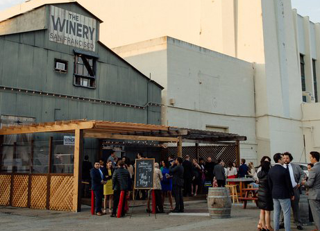 Photo #5 The Winery SF Barrel Room at The Winery SF